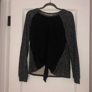 Fabletics Tie Front Sweatshirt